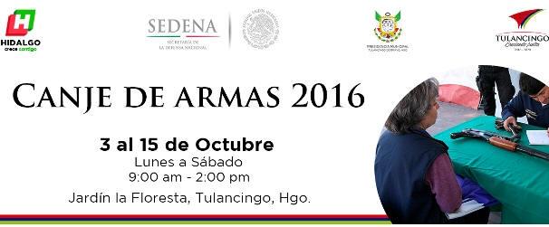 Sedena Inicia Canje De Armas 2016 En Tulancingo